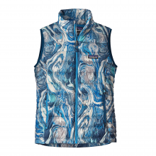 Women's Down Sweater Vest in Solana Beach, CA