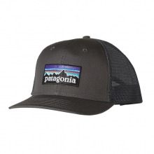 P-6 Logo Trucker Hat by Patagonia in Sandy Ut