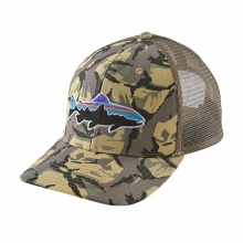 Fitz Roy Trout Trucker Hat by Patagonia in Sandy Ut