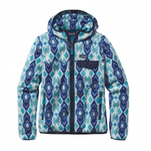 Women's Lightweight Snap-T Hooded Jacket by Patagonia in Durango Co