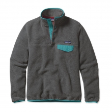 Women's Lightweight Synchilla Snap-T Pullover by Patagonia in Coeur Dalene Id