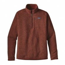 Men's Better Sweater 1/4 Zip by Patagonia in Harrisonburg Va