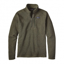 Men's Better Sweater 1/4 Zip by Patagonia in Sandy Ut