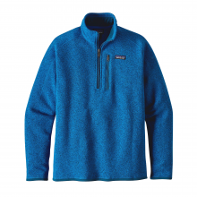 Men's Better Sweater 1/4 Zip by Patagonia in Burlington Vt
