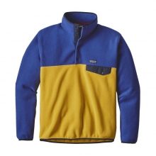 Men's Lightweight Synchilla Snap-T Pullover by Patagonia in Virginia Beach Va