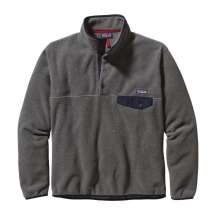 Men's Lightweight Synchilla Snap-T Pullover by Patagonia in Uncasville Ct