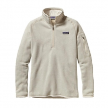 Women's Better Sweater 1/4 Zip by Patagonia in Troy Oh