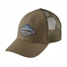 Fitz Roy Crest LoPro Trucker Hat by Patagonia in Sandy Ut