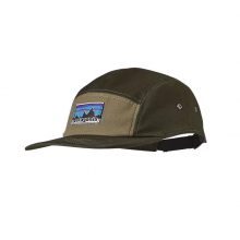 Retro Fitz Roy Label Tradesmith Cap by Patagonia