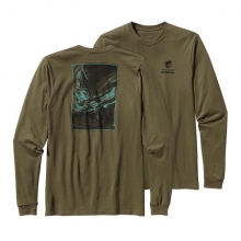 Men's L/S World Trout Cotton T-Shirt by Patagonia in Heber Springs Ar