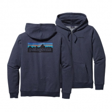 Men's P-6 Logo MW Full-Zip Hooded Sweatshirt by Patagonia in Bend Or