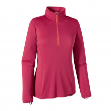Women's Cap MW Zip Neck by Patagonia in Lubbock Tx