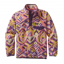 Girls' Lightweight Synchilla Snap-T Pullover by Patagonia in Oxford Ms