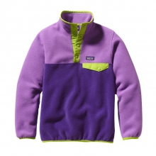 Girls' Lightweight Synchilla Snap-T Pullover by Patagonia in Bowling Green Ky