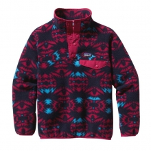 Girls' Lightweight Synchilla Snap-T Pullover by Patagonia in Knoxville Tn