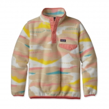 Girls' Lightweight Synchilla Snap-T Pullover by Patagonia in Lubbock Tx