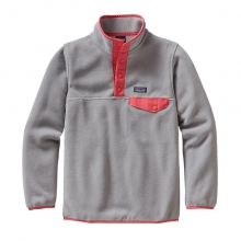 Girls' Lightweight Synchilla Snap-T Pullover by Patagonia in Columbia Sc