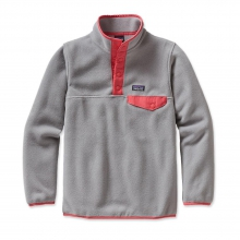Girls' Lightweight Synchilla Snap-T Pullover by Patagonia in Anderson Sc