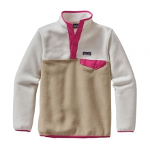 Girls' Lightweight Synchilla Snap-T Pullover by Patagonia in Stowe VT