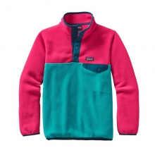 Girls' Lightweight Synchilla Snap-T Pullover by Patagonia in Ellicottville Ny
