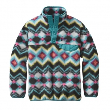 Girls' Lightweight Synchilla Snap-T Pullover by Patagonia in Missoula Mt