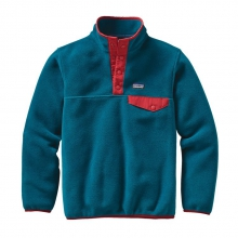 Boys' Lightweight Synchilla Snap-T Pullover by Patagonia in Ellicottville Ny