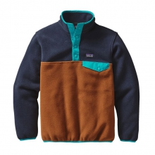 Boys' Lightweight Synchilla Snap-T Pullover by Patagonia in Stowe Vt