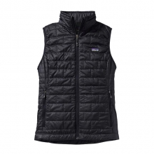 Women's Nano Puff Vest by Patagonia in Stowe VT