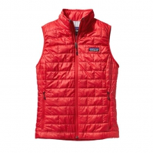 Women's Nano Puff Vest by Patagonia in Bluffton Sc