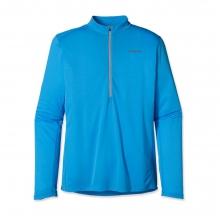 Men's Long-Sleeved Fore Runner Zip Neck by Patagonia