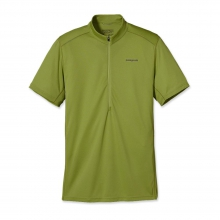 Men's Short-Sleeved Fore Runner Zip Neck by Patagonia