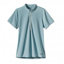 Women'sShort-Sleeved Fore Runner Zip Neck by Patagonia in Okemos Mi