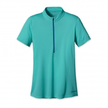 Women'sShort-Sleeved Fore Runner Zip Neck by Patagonia