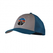 Fitz Roy Emblem LoPro Trucker Hat by Patagonia in Sandy Ut