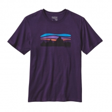 Men's Fitz Roy Banner Cotton T-Shirt in Iowa City, IA