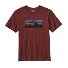 Men's Fitz Roy Banner Cotton T-Shirt by Patagonia