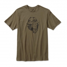 Men's Fish Monkey Cotton T-Shirt by Patagonia in Lewiston Id
