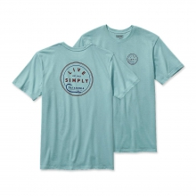 Men's Live Simply Hook Cotton T-Shirt by Patagonia in San Luis Obispo Ca