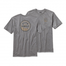 Men's Live Simply Hook Cotton T-Shirt by Patagonia in Delafield Wi