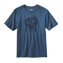 Men's Illustrated Buffalo Cotton T-Shirt