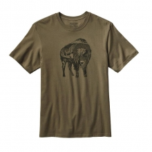 Men's Illustrated Buffalo Cotton T-Shirt by Patagonia in Ponderay Id