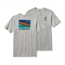 Men's World Trout Slurp Cotton T-Shirt by Patagonia in Heber Springs Ar