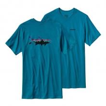 Men's Fitz Roy Tarpon Cotton T-Shirt by Patagonia in Hilton Head Island Sc