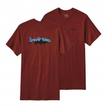 Men's Fitz Roy Tarpon Cotton T-Shirt by Patagonia in Tallahassee Fl