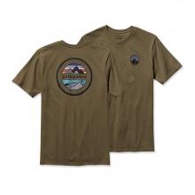 Men's Rivet Logo Cotton T-Shirt by Patagonia