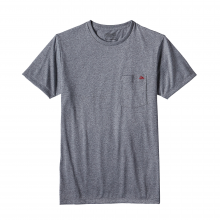 Men's Flying Fish Rec. Poly Pocket Responsibili-Tee by Patagonia in San Luis Obispo Ca