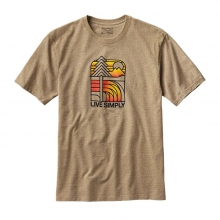 Men's Live Simply Landscape Rec. Cotton/Poly Responsibili-Tee