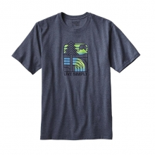 Men's Live Simply Landscape Rec. Cotton/Poly Responsibili-Tee by Patagonia