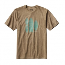Men's Surfboards Recycled Cotton/Poly Responsibili-Tee