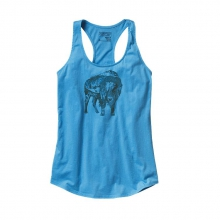 Women's Illustrated Buffalo Cotton Tank Top by Patagonia